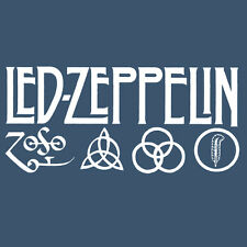 Led Zeppelin IV Zoso Four Runes Symbols Houses Of the Holy Long Sleeve Shirt