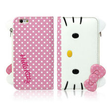 [CA] Hello Kitty Galaxy Note 5,4,3 Case Wallet Clutch Coin Purse Mirror 3Colors