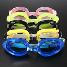 Non-Fogging Swimming Goggles + Nose Clip + Swim Ear Plugs Set