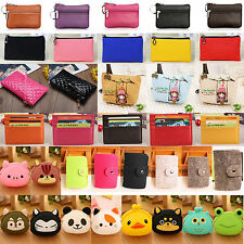 Womens Small Pouch Wallet Coin Purse Credit Card Case Holder Clutch Handbag Gift