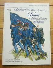 OSPREY BOOK MILITARY AMERICAN CIVIL WAR UNION CAVALRY ARTILLERY & INFANTRY.