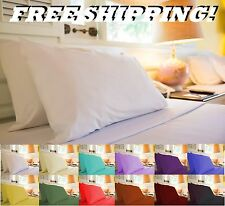 1800 TC EGYPTIAN COTTON, QUALITY QUEEN & KING 4 PIECE SHEETS SET