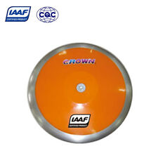 IAAF Steel + Plastic High Spin Competition Discus 1.5KG 1.75KG 2KG Track & Field