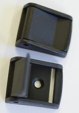 BLACK Plastic Flap CAM Lever BUCKLES for 25 mm Wide Webbing Quantity 1 to 1000