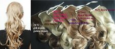 Ladies String Style Ponytail (Wavy) Hair Piece Extension Free Ship DIY Hair Easy
