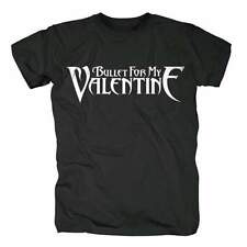 BULLET FOR MY VALENTINE - NAME LOGO - OFFICIAL MENS T SHIRT