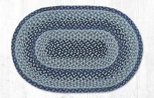 "Capitol Earth Rugs Blackberry Jute Braided Oval Rug C-505 20""x30"
