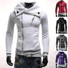 New Mens Fashion Stylish Slim Fit Casual Hooded Coat Hoodies Tops Jacket Outwear