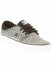 DC Black-Grey-White Trase TX - Special Edition Womens Low Top Shoe