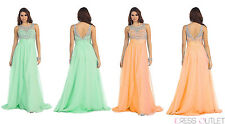 TheDressOutlet Long Formal Dress Prom Plus Size Evening Gown