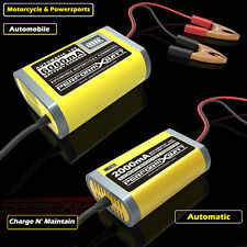 12V Automatic Battery Trickle Charger Motorcycle Car Truck Boat Caravan Mower