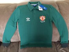 $75 Manchester United Adidas 1985 FA Cup Final Jersey Sweater Shirt HARD TO FIND