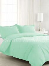 5 Piece 800TC Egyptian Cotton Traditional Solid Duvet Cover Set All size & color