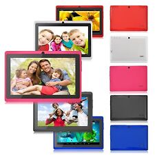 "7"" Pink Tablet PC HD 8GB Quad Core Dual Camera Android 4.4 WIFI Bluetooth Game"