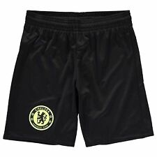 Adidas Chelsea FC Away Shorts 2016 2017 Juniors Black Football Soccer