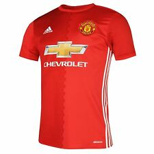 Adidas Manchester United FC Home Jersey 2016 2017 Mens Red Football Soccer Shirt
