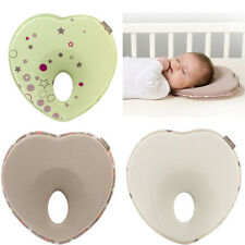 Baby Pillow Infant Shape Toddler Sleep Positioner Anti Roll Cushion Flat Pillow