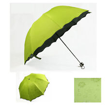 Multi-function Umbrella Lady Princess Magic Flowers Dome Parasol Sun/Rain