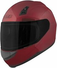 Speed and Strength SS700 Solid Speed Full Face Motorcycle Helmet Wineberry