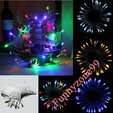 2M INDOOR BATTERY POWERED WEDDING PARTY PHOTOGRAPH TREE FAIRY STRING 40LED LIGHT
