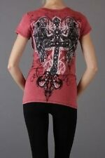 Sexy & Sinful Cross Western Tattoo Wings Shirt True Religion Perfume Gift M L