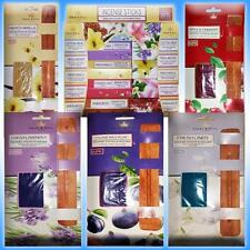 INCENSE STICKS & WOODEN HOLDER 60 or 80 GIFT BOX SET NEW RELAXING SCENTS