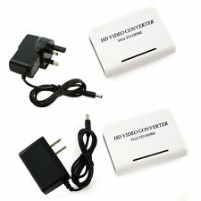 1080P Audio VGA to HDMI HD HDTV Video Converter Box Adapter for PC Laptop DVD KG