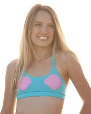 Mermaid Shells Sports Bra