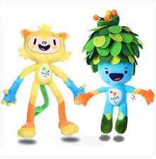 2016 Brazil Rio de Janeiro Olympic&Paralympic Mascot Vinicius&Tom Plush Doll Toy