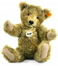 Steiff 35cm Classic 1920 Jointed Teddy Bear With Growler (Light Brown)
