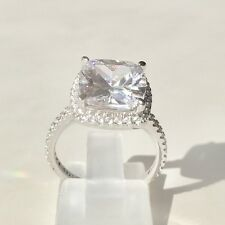 3 Carat Lab Diamond Engagement Ring 100% Sterling Silver 925 AUST SELLER