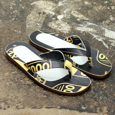 NEW Maison Martin Margiela Black & Yellow Flip Flops GENUINE RRP: £270 BNIB