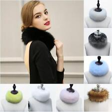 Fashion Winter Faux Fox Fur Collar Scarf Shawl Collar Women's Wrap Stole Scarves
