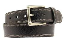 Nocona Western Mens Belt HDX Triple Stitch Extreme Basic Black N2710601