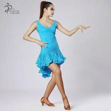 NEW Latin salsa Cha cha tango Ballroom Dance Dress #8022 10 colors available