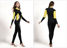 Women Anti-UV Scuba One-Piece Diving Suit Lycra Fullbody Swimming Wear Wet Suit