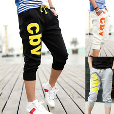 2016 Mens Casual Haren Jogging Dance Sports Pants Shorts Cropped Loose Trousers