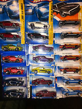 Hotwheels FORD MUSTANG 67 & 69 SHELBY GT-500, 68 and 69 Mustang lot oF 21