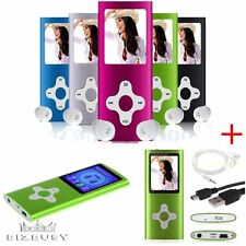 "8GB/ 16GB / 32GB Slim Mp3 Mp4 Player Light 1.8"" LCD FM Radio& Video & Games HOT"