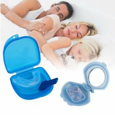 Stop Snoring Mouthpiece Apnea Aid Sleep Bruxism Anti Snore Grind MouthGuard GK