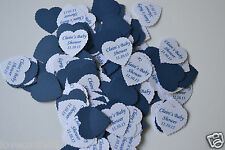 BABY SHOWER STUNNING PERSONALISED TABLE CONFETTI includes YOUR NAME & DATE