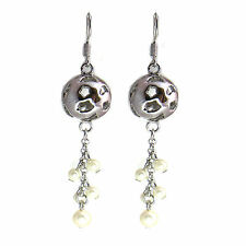Ball  Women Crystal pearl  Earrings  with Genuine SWAROVSKI Crystals