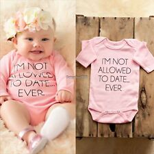 Cotton Newborn Baby Girl Boy Clothes Bodysuit Romper Playsuit Outfits ED