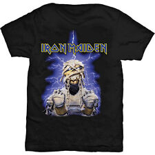 Iron Maiden Men's  Power Slave T-shirt Black