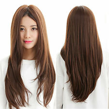 POP Women Sexy Lady Fashion Long Straight Full Hair Party Cosplay Wig Wigs Hot