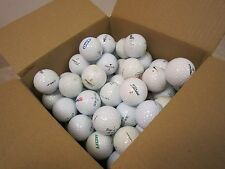 Lot of 110  Golf Balls Recycled White Titleist Nike Calloway Range Putting