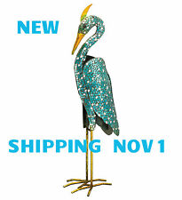 MOSAIC DECOR STATUARY - HERON, FLAMINGO, CRANE REGAL ART & GIFT 20260-1