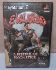 Evil Dead A Fistful of Boomstick Sony PS2 Working Fast Shipping