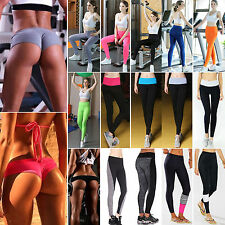 Women Ladies Sexy Yoga Fitness Skinny Leggings Running Pants Gym Sports Trousers
