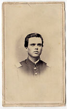 Civil War CDV of unidentified Maine Officer